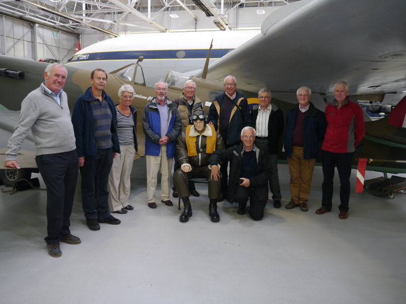 Rotary Members at RAF Cosford